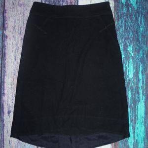 Anthropologie Elevenses Skirt Black 6
